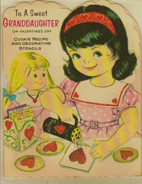 Sweet Granddaughter Valentine (c. 1965)