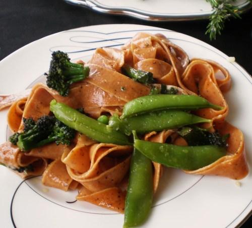 Pasta with Fresh Vegies