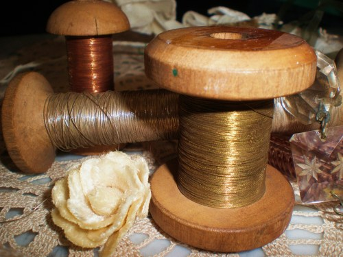 lavendar-metal-thread-spools