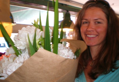 Market Rebekah and Peony Bouquet