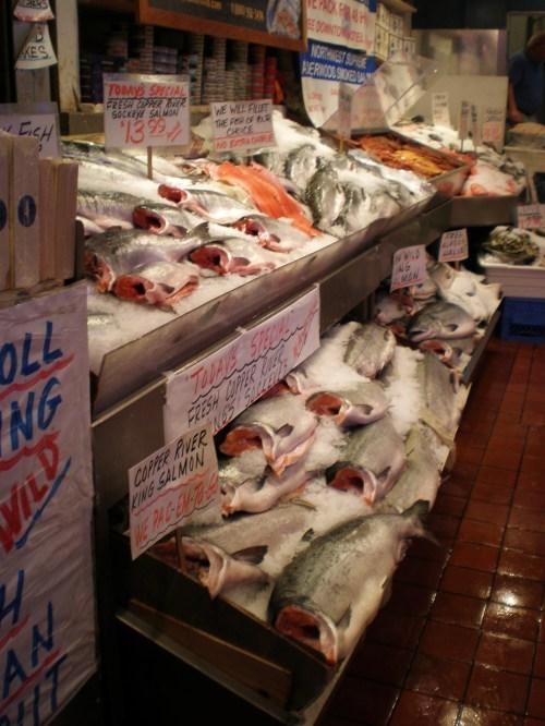 market salmon