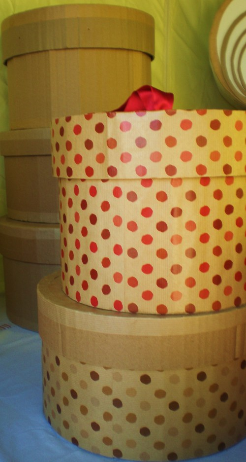 Hat boxes small set FAV