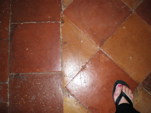 tile floor second floor FAV