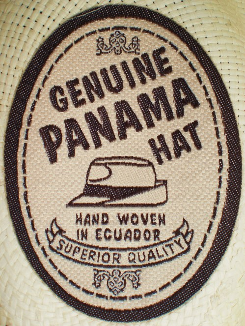 Genuine Panama Hat Label FAV 1