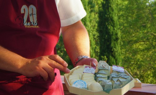 Laurent and Goat Cheese Sample
