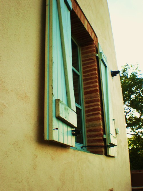 light blue shutters FAV
