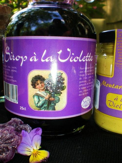 Violet syrup FAV